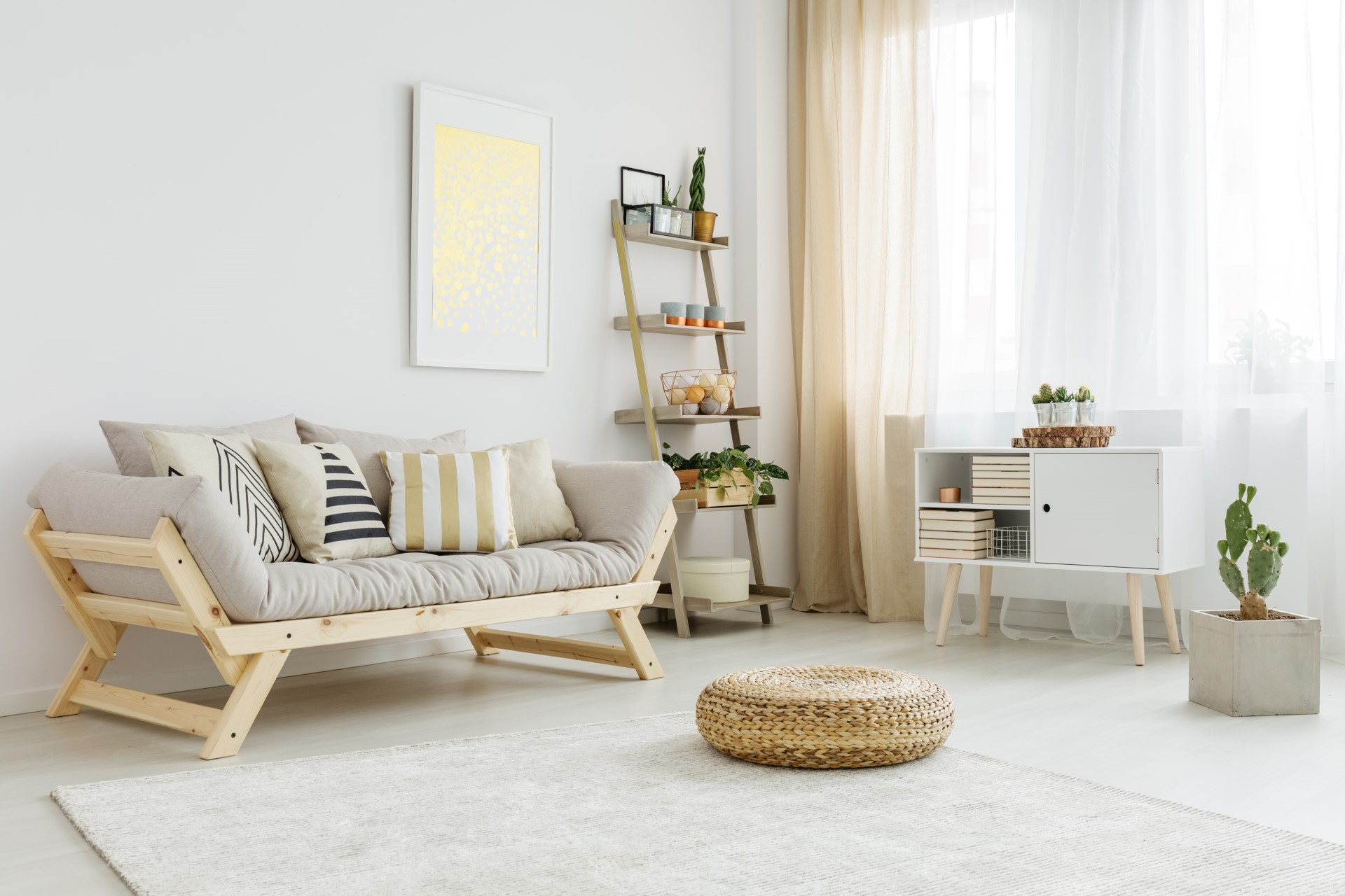 living room with decorations - Header Top Slider