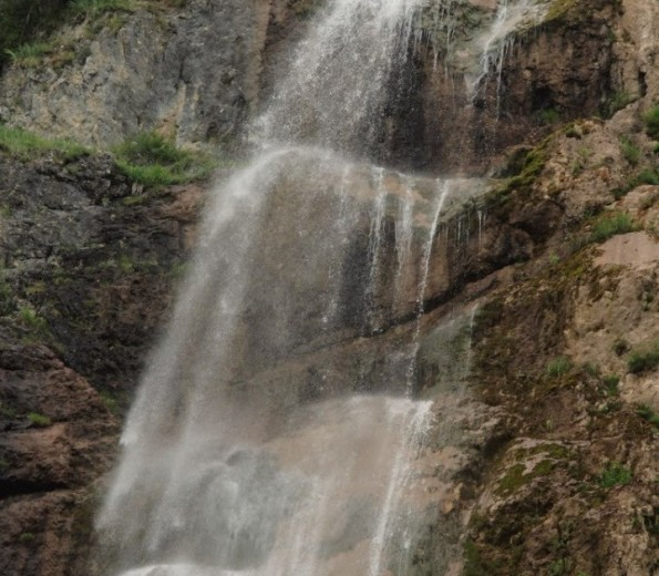 Waterfall of Bajloviča Siga