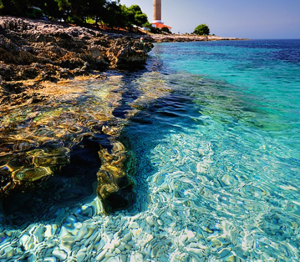 Veli Rat lighthouse on Dugi Otok
