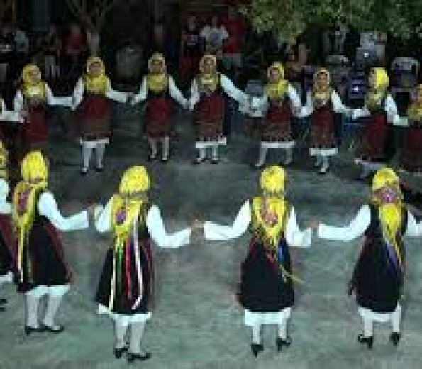 Traditional dances, Karystos